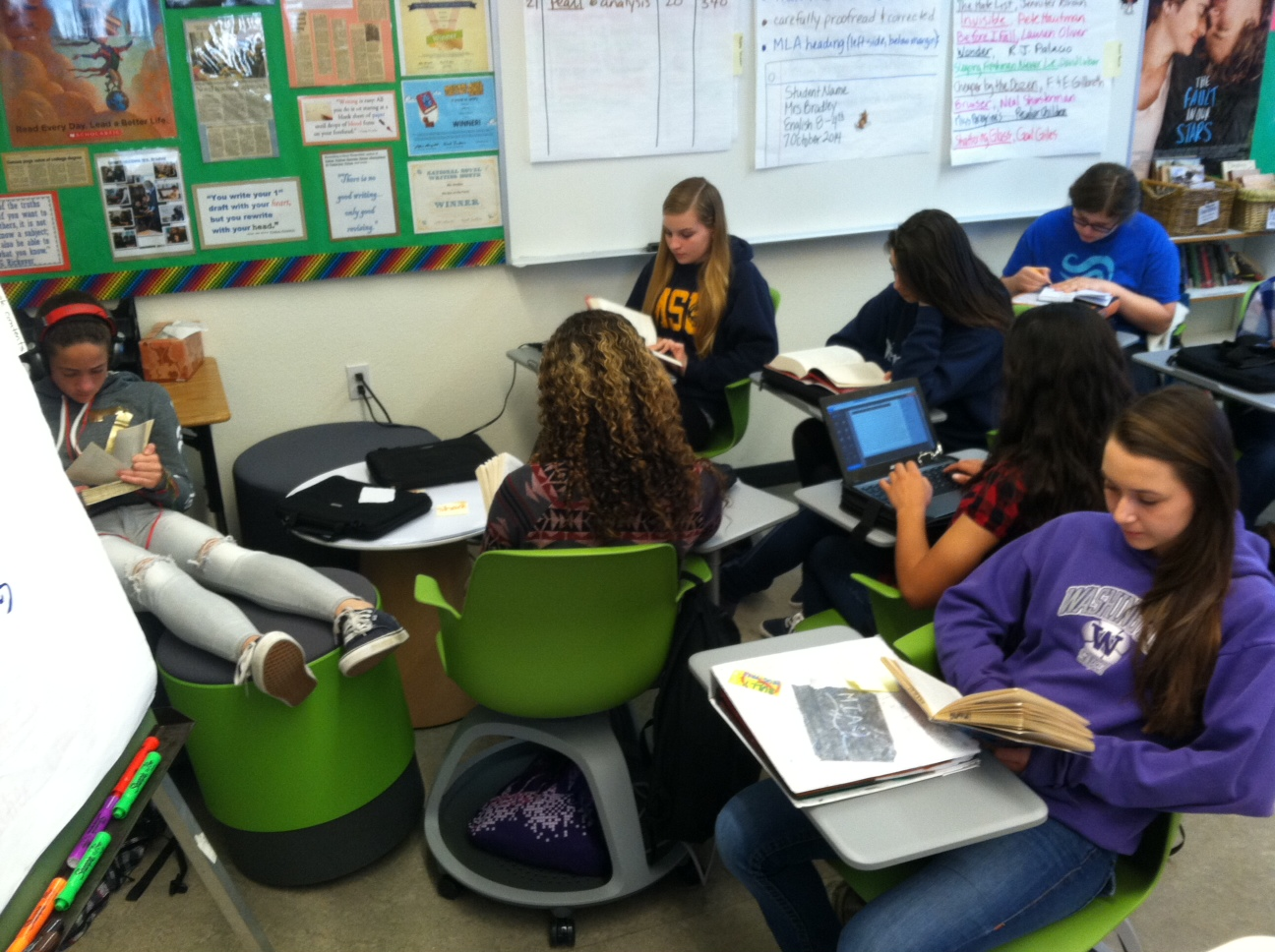 Collaborative Classroom Discussions ~ Collaboration on wheels st century classroom furniture