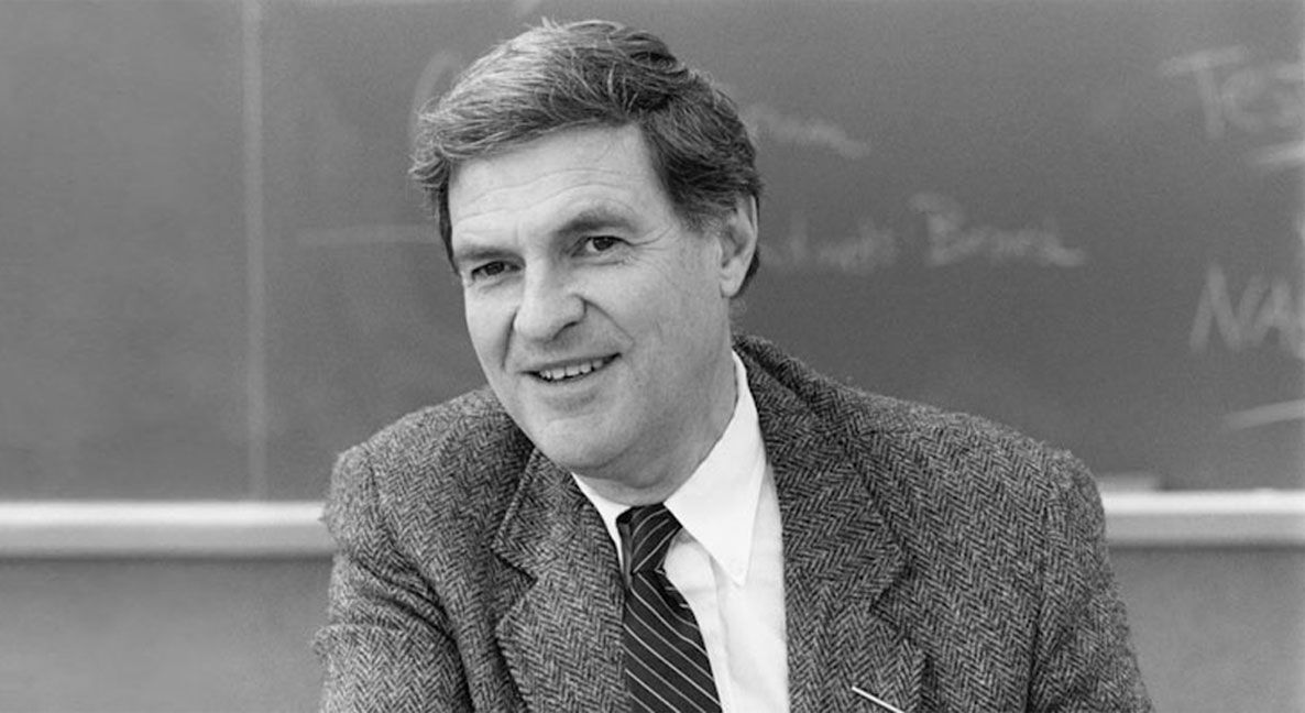Ted Sizer, founder of the Coalition of Essential Schools, in 1987