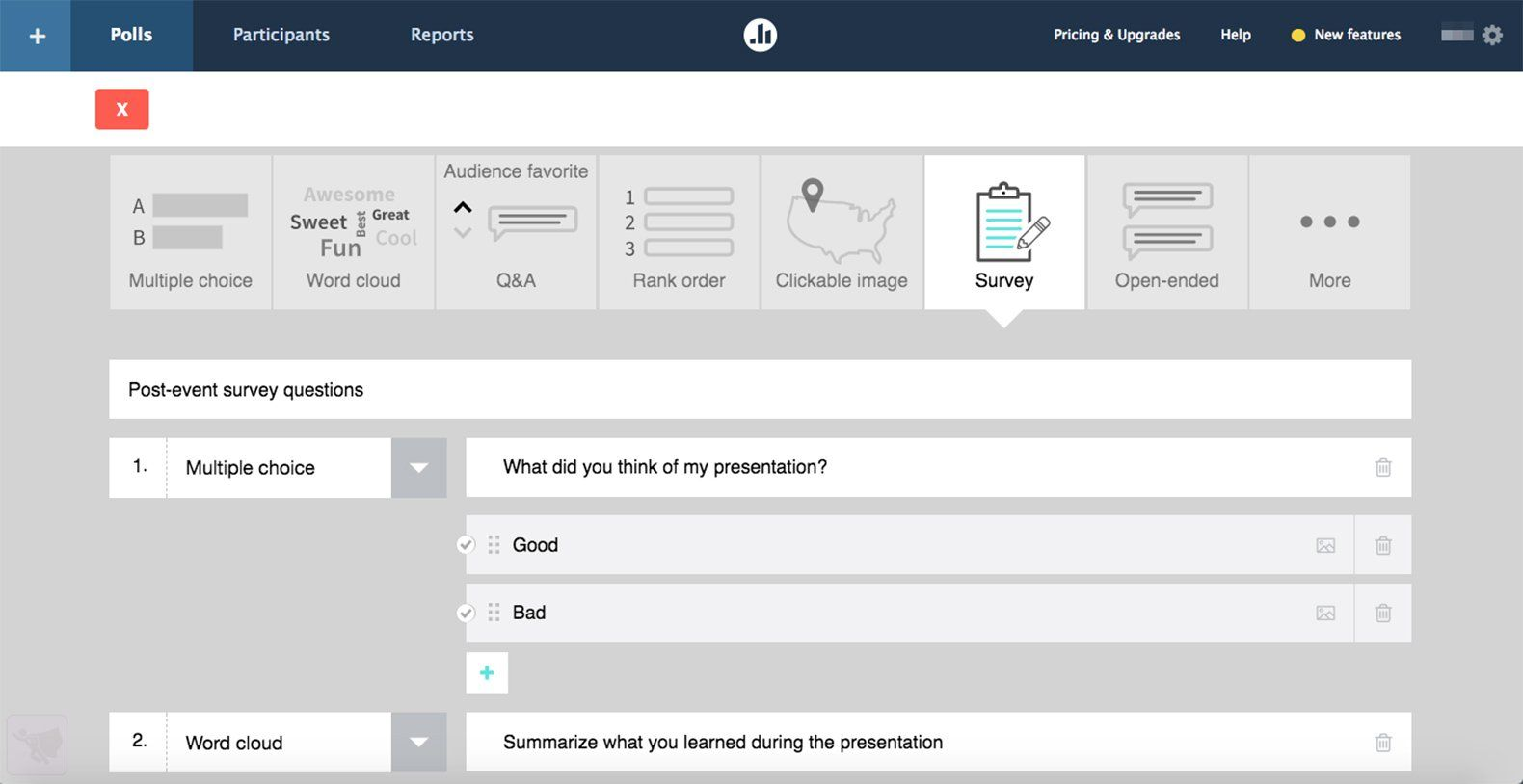 Using Poll Everywhere, teachers can ask students to anonymously answer questions or open-ended prompts.