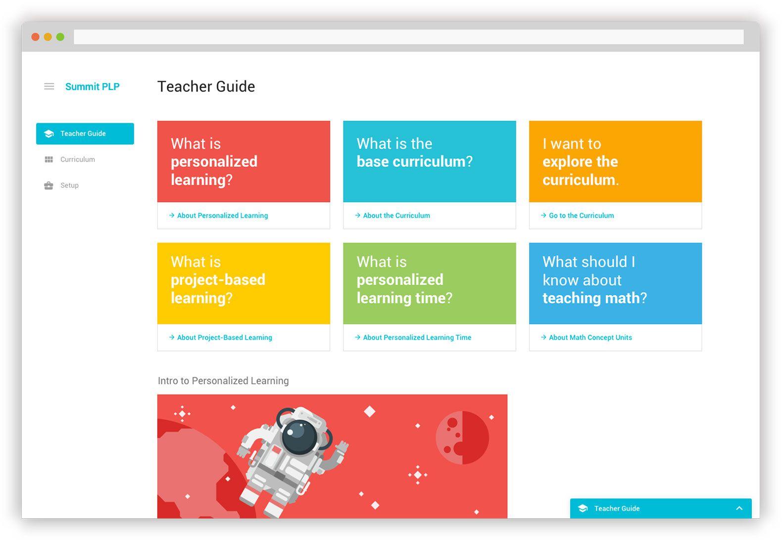 Summit's PLP Teacher Guide