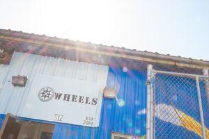 Exterior shot of WHEELS, a prek-12 school in Washington Heights.