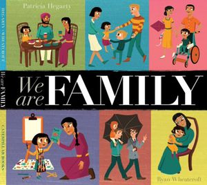 Book Cover of We Are Family by Patricia Hegarty