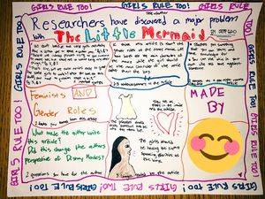 A one-pager example from Jill Yamasawa Fletcher