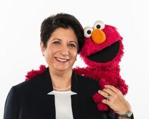 Rosemarie Truglio, Ph.D. Senior Vice President, Curriculum & Content of Sesame Workshop and Elmo