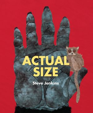 Actual Size book cover artwork