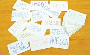 Dünya dil kelime kartları