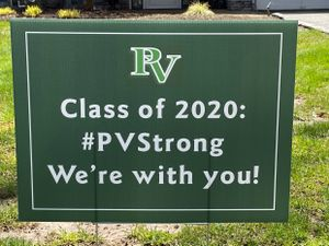 Class of 2020 yard sign.