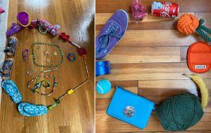 A teacher's color wheel examples