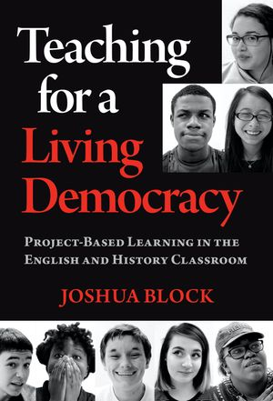Book cover art for Teaching for a Living Democracy