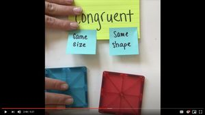 Example of engagement in instructional video