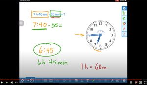 Example of screencasting in instructional video