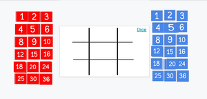 A multiplication Google Slides version of Tic Tac Toe to play virtually