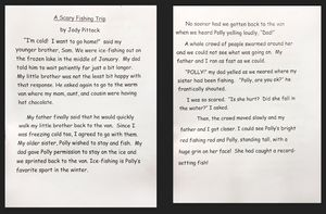Work sample provided by author