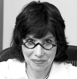 close up of Alison Gopnik