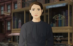 A still from the video game Mission US: City of Immigrants