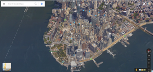 Google Earth in New York