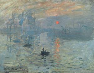 Sunrise by Monet