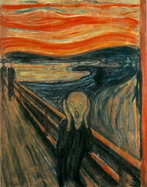 the scream by munch