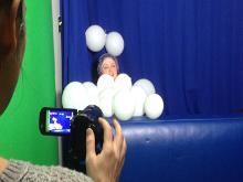 Teacher Making Video