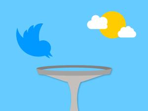 Twitter and a bird bath