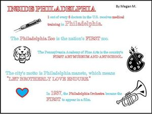 philadelphia inside infographic