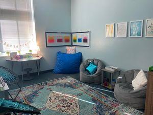 A corner of a classroom