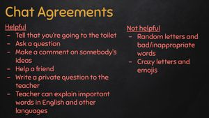 Author image of chat agreements