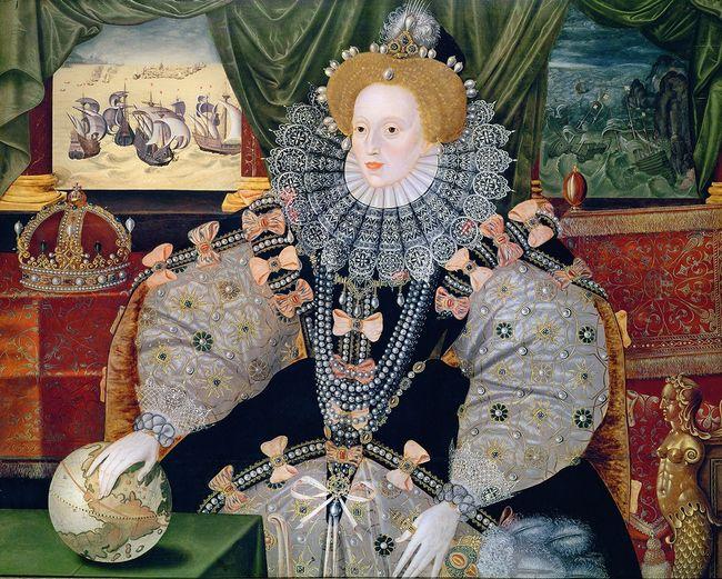 """Armada Portrait"" of Elizabeth I, artist unkown"